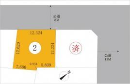 宅地 西野5条4丁目 北海道札幌市西区西野五条4丁目 札幌市東西線発寒南駅 1,160万円~1,280万円