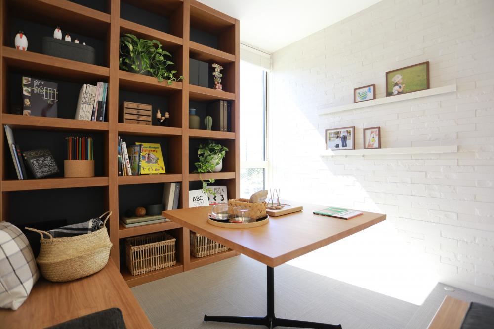1.5階の和室はまるでカフェのようなオシャレな空間です♪お友達を読んでお茶をするのも素敵です♪