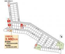 建売住宅 ベルヴィタウン瀬田東3期 滋賀県大津市月輪3丁目 JR東海道本線瀬田駅 3,980万円