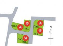 宅地 春日ガーデン 山形県米沢市春日1丁目 JR奥羽本線米沢駅 880万円
