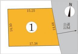 土地 厚別東1条5丁目 北海道札幌市厚別区厚別東一条5丁目 JR千歳線新札幌駅 700万円